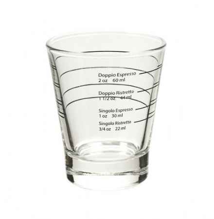 Authentic Italian Espresso Shot Glass
